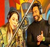 اغنية تامر حسني من ورا الشبابيك مع اليسا