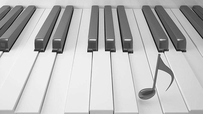 نغمات بيانو